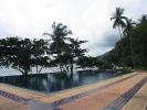 Navy resort pool
