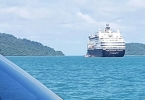 Pacific Eden visits Koh Chang August 2016