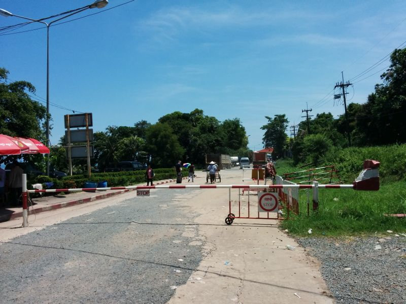 Cambodian side of the border