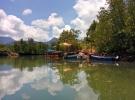 Paddling up the Klong Prao river