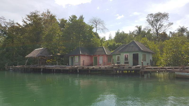 Abandoned bungalows