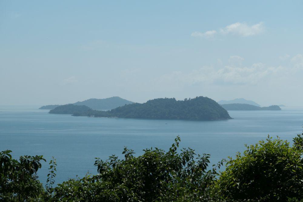 View to Koh Laoya, Koh Wai & Koh Mak