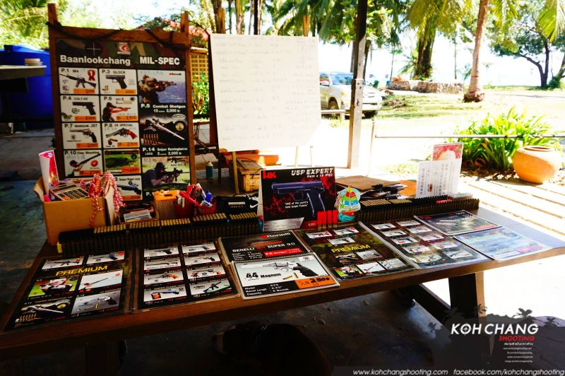 Prze giving at Koh Chang Shooting Range