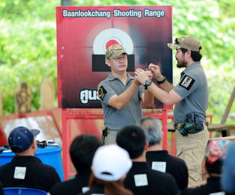Instructor at Koh Chang Shooting Range