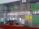 Bus timetable from passenger terminal