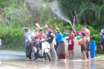 Songkran on Koh Chang 2018