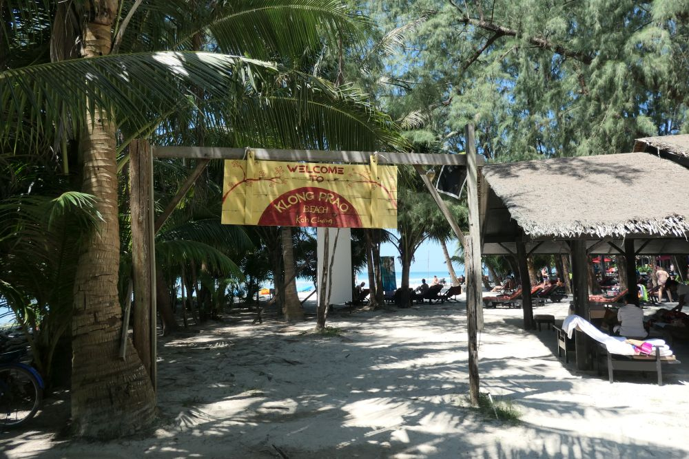Beach access near Centara tropicana Resort