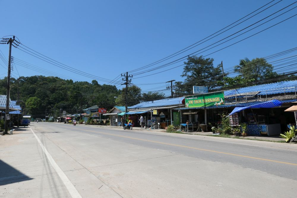Roadsde shops
