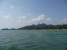 View North along Klong Prao Beach from Chock Dee Resort