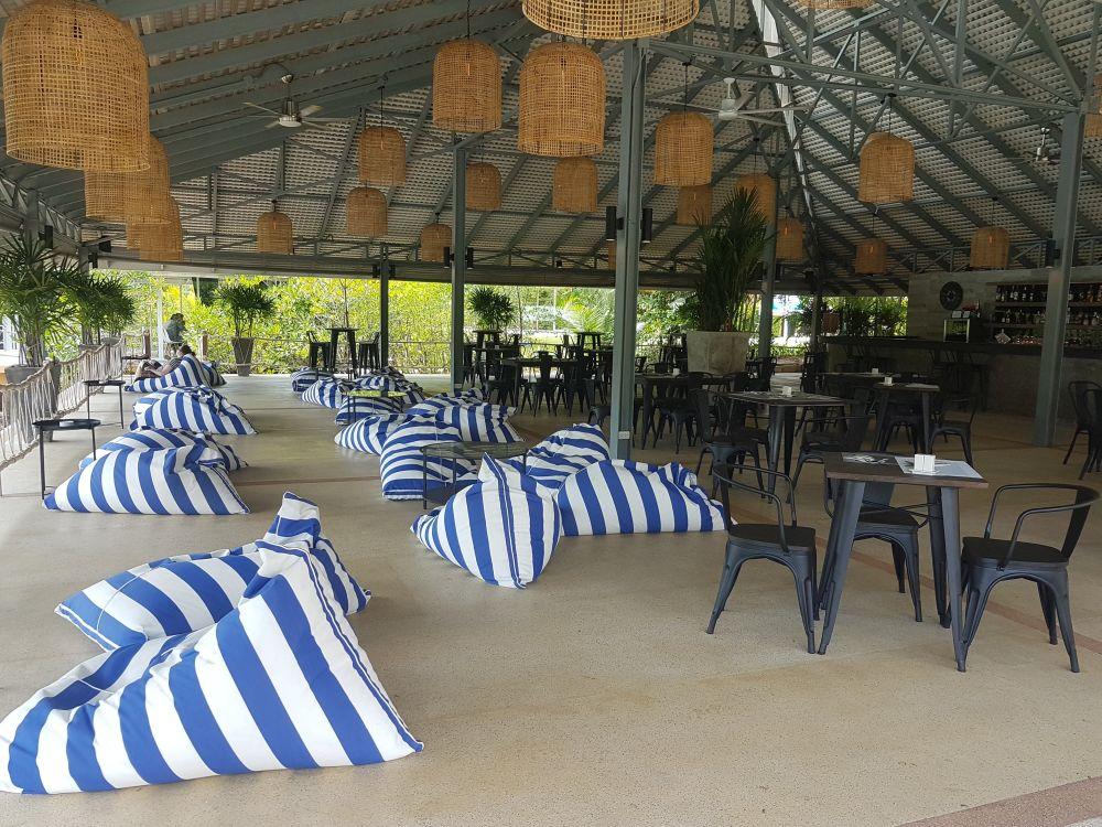 The Harbour restaurant, Marina Sands Resort
