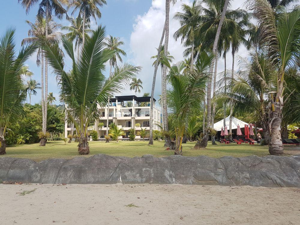Shambhala beach bar and pool