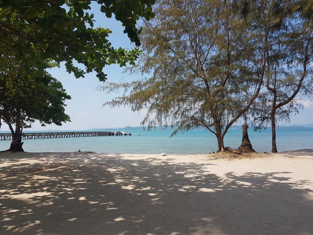 Views towards the mainland