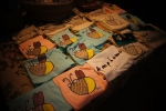 Cute souvenir t-shirts at Amphawa