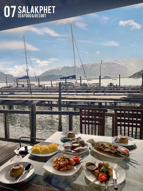 Salakphet Seafood restaurant
