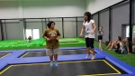 Learning to trampoline