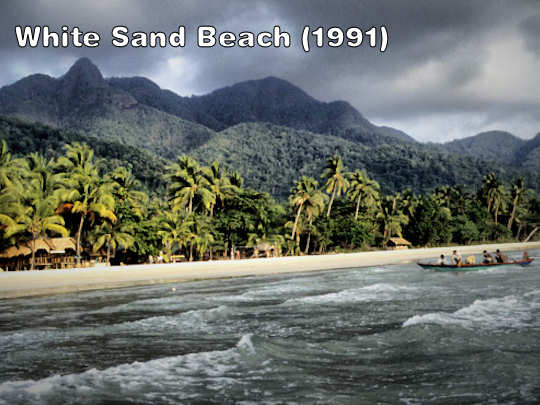 Old White Sand beach
