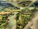 Aerial view of Klong Prao