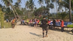 Halfway point Wai Chaek beach Koh Chang Trail Race 2016