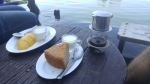 Banana cake, yoghurt & Vietnamese coffee