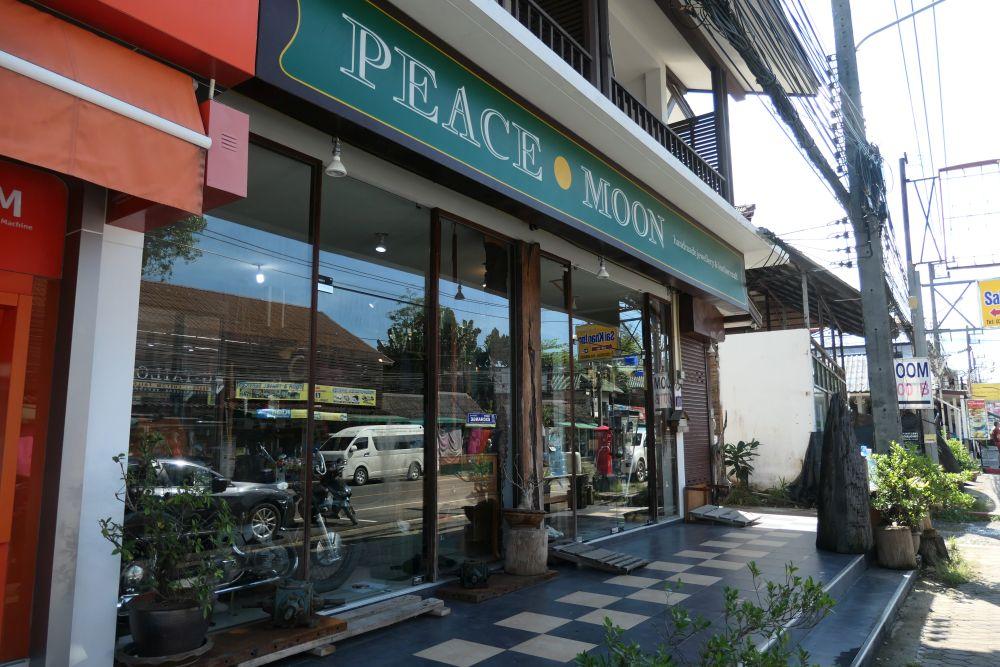 Peace Moon handmade leather goods