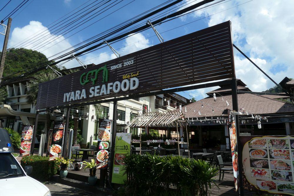 Iyara Seafood at Kacha Resort