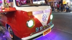 Old VW campervan