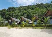 Beach villas at KC Grande Resort