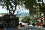 Khao Jom mountain in the distance