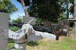 Anti aircraft guns ( decommissioned )