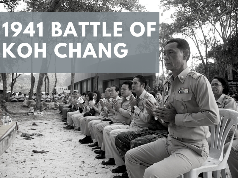 Commemoration ceremony for the 1941 Battle of Koh Chang