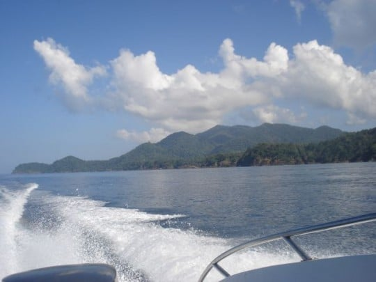 Leaving Koh Chang behind for a day