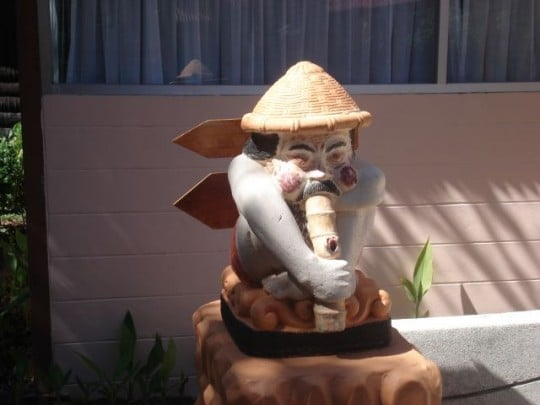 A quick opium pipe hit and you too might enjoy Koh Chang Resort