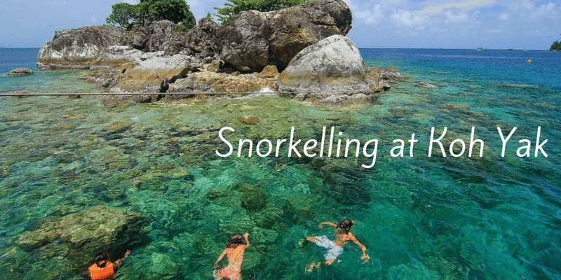All snorkelling trips stop at the small islands near Koh Rang