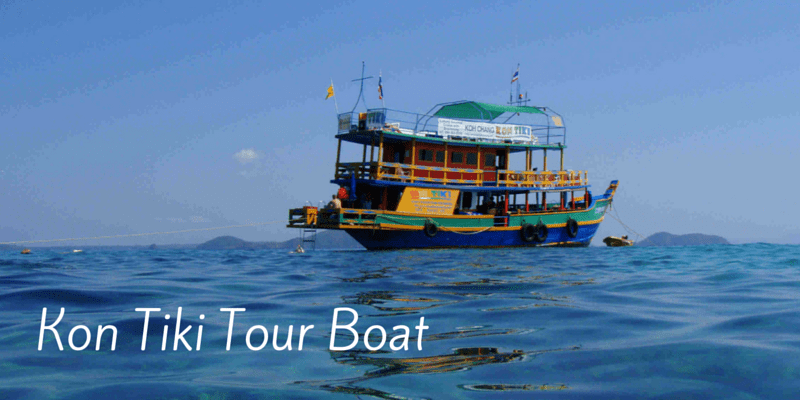 Boat trips to Koh Makl and Koh Rang with Kontiki tours