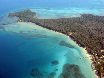 Aerial View of the Northwest of Koh Mak