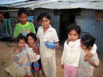 Cambodian Kids on Koh Chang