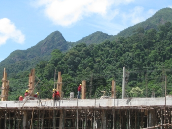 koh chang construction