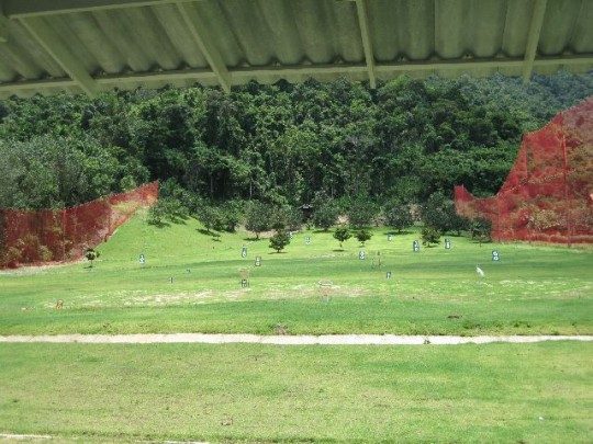 Koh Chang's Golf Driving Range