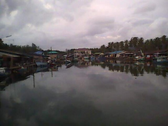 fishing village on the Trat coast