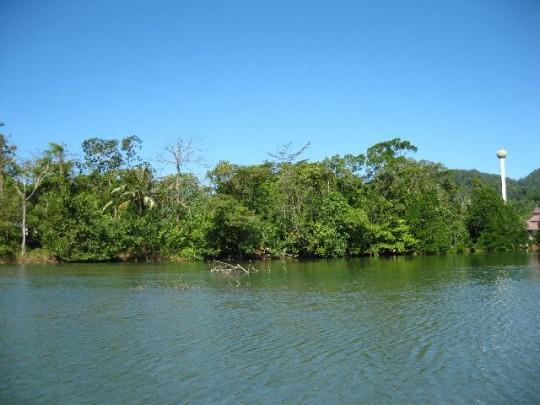 Lagoon frontage