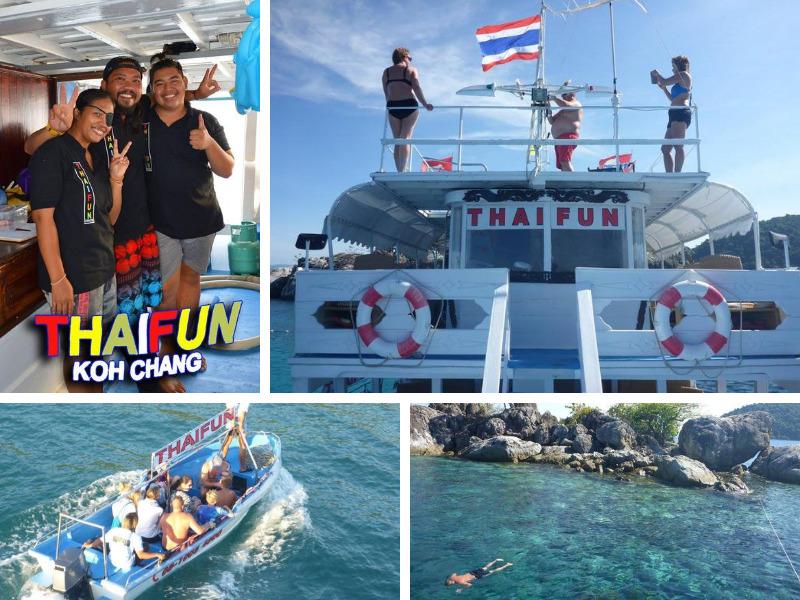Thaifun day cruise, Koh Chang