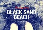 Photos of the black sand beach at Laem Ngop, Trat