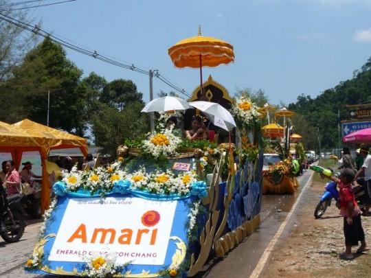 Songkran Parade Koh Chang 2010
