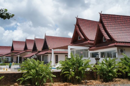 Beachfront homes on koh Chang for sale
