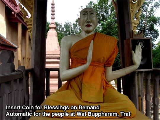 Wat Buppharam Trat