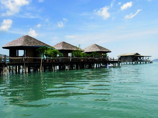 Old bangbao sea huts