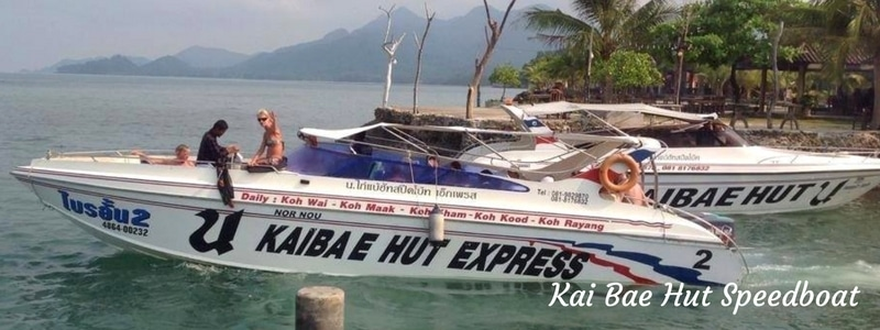 Privat espeedboat tour on Koh Chang