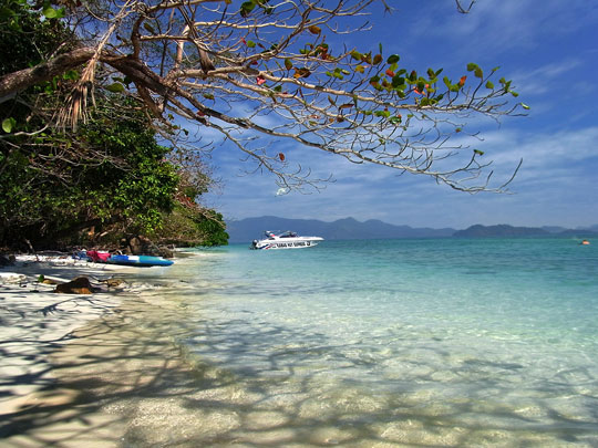 Koh Klum beach