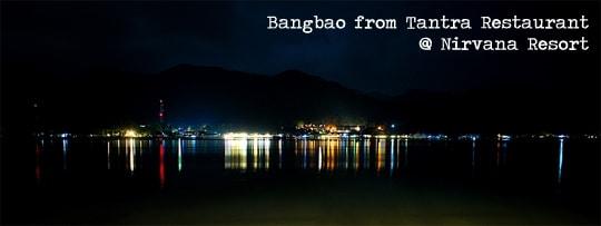 Bangbao Koh Chang at night