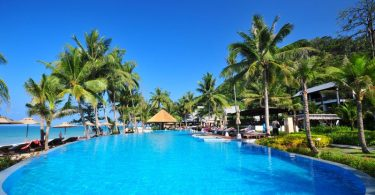 Swimming pool at KC Grande Resort, Koh Chang, Thailand